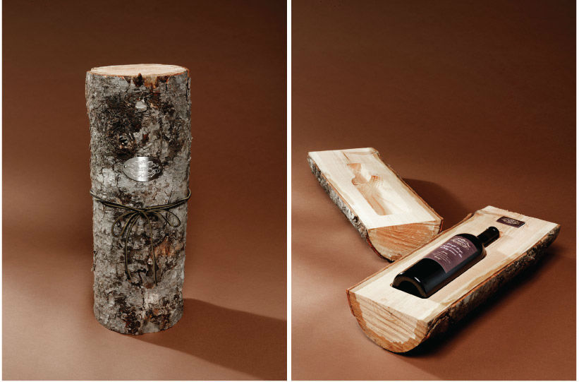 Cole & Weber, packaging de vino muy especial