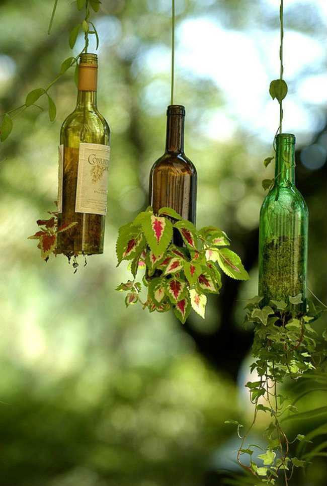Ranking: reutilizar las botellas de vino de vidrio