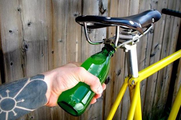 Bici abrebotellas