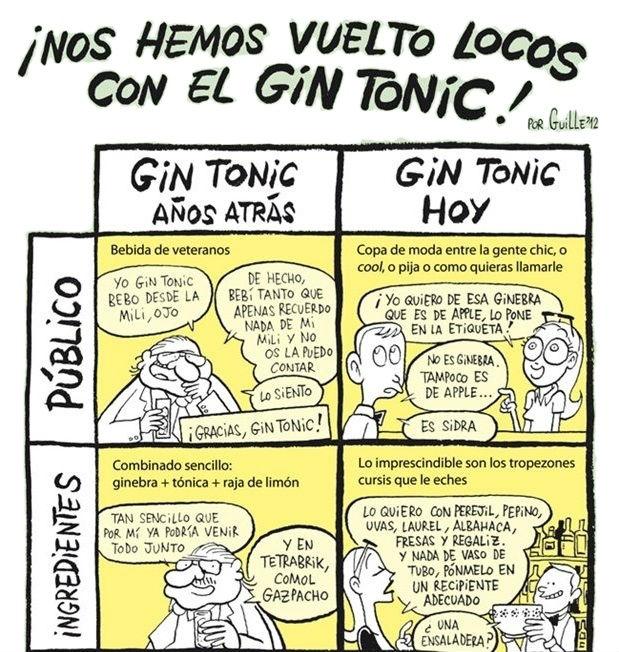 El Gin Tonic, con un poco de humor 2