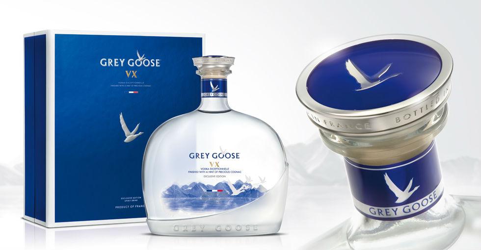 Grey Goose VX, vodka elevado a la máxima categoría