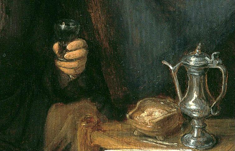 el vino en el arte