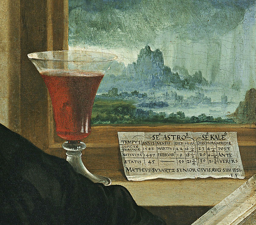 """Retrato de Matthäus Schwarz"" (1542), de Christoph Amberger"