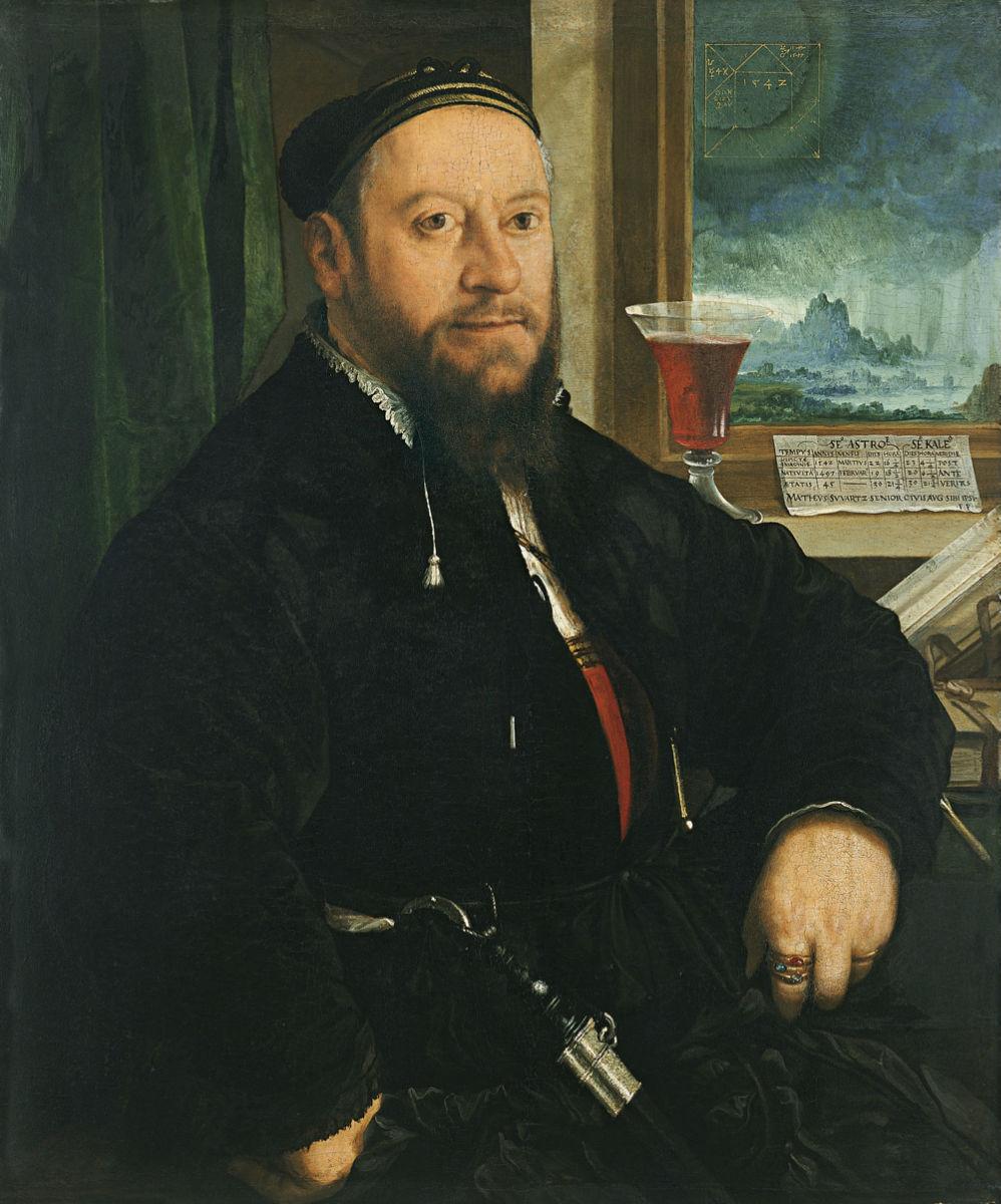 schwarz retrato