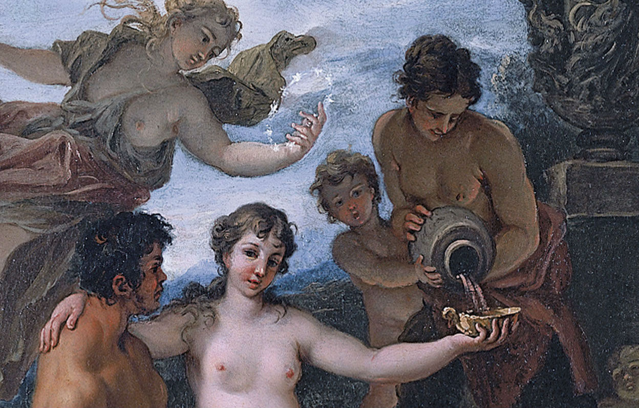 """Baco y Ariadna"" (1691-1694), de Sebastiano Ricci"