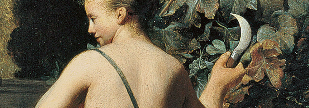 """""""Vertumno y Pomona"""" (1637-1640), de Caesar van Everdingen"""