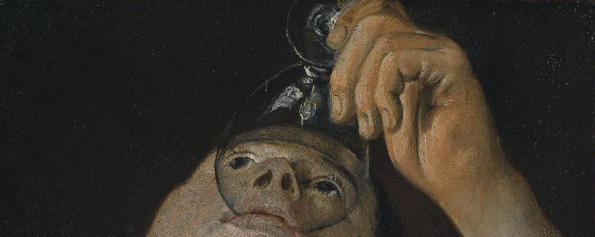 """Chico bebiendo"" (1582-1583), de Annibale Carracci"