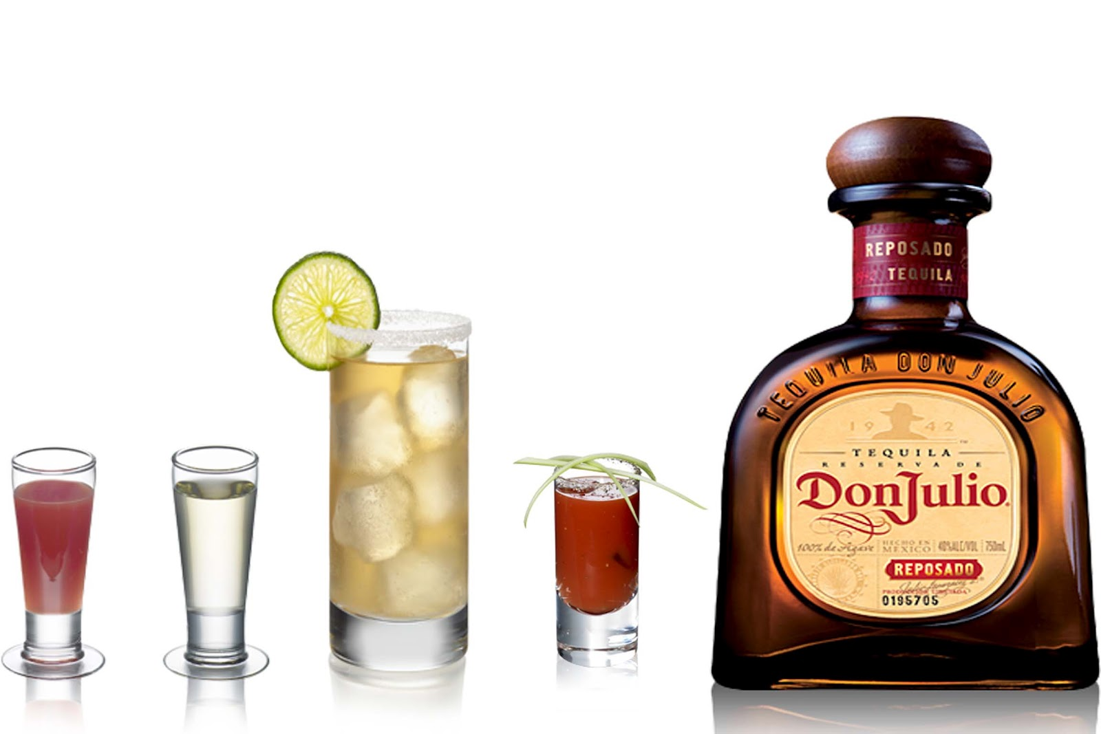 Tequila DON JULIO Reposado 70cl 38º