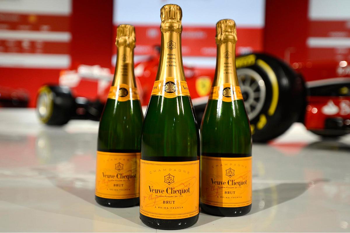 Veuve Clicquot y Ferrari firman una alianza de estilo de vida