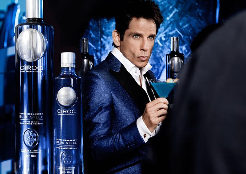 """CÎROC presenta la edición especial """"Derek Zoolander Blue Steel"""""""