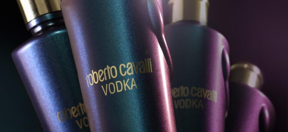 Cavalli Chameleon, vodka edición especial que cambia de color
