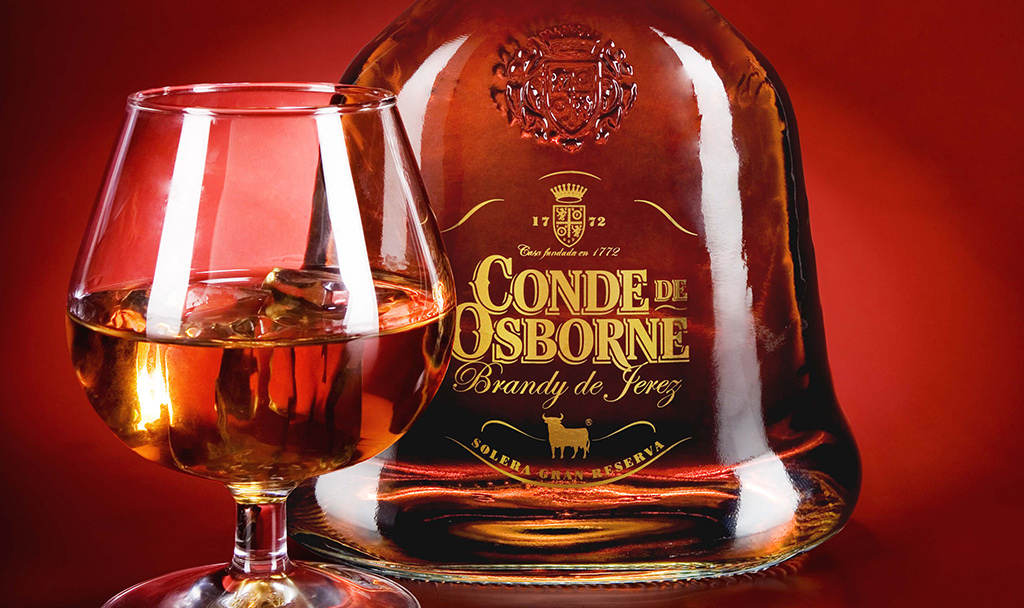 Brandy Conde de Osborne, fruto del buen hacer artesanal