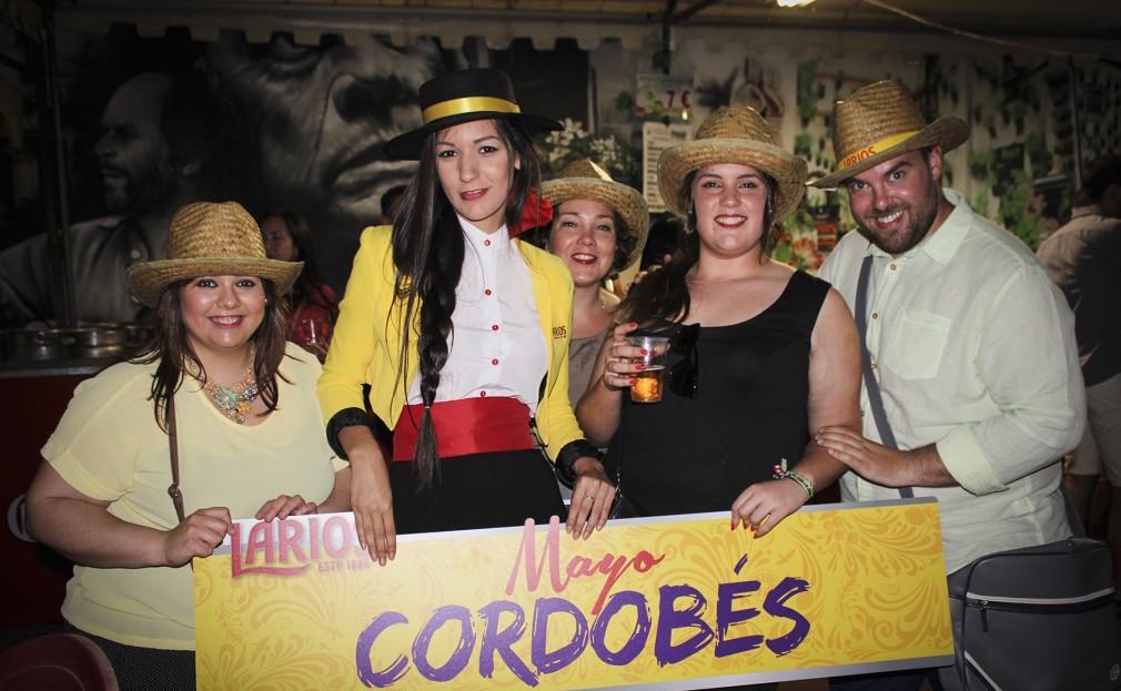 Larios 12 celebra el mayo cordobés 2016