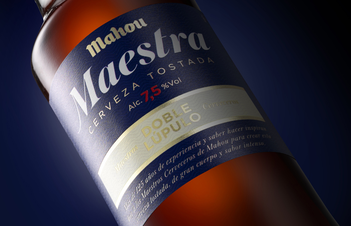 Mahou presenta Maestra, nueva cerveza tostada de doble lúpulo
