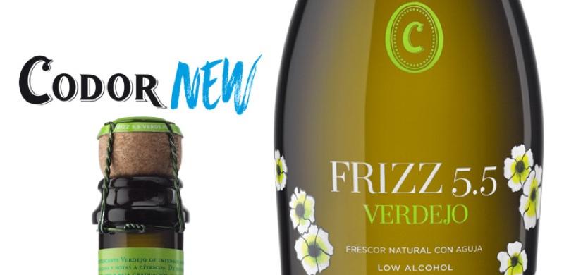 FRIZZ 5.5 Verdejo, burbuja chispeante y baja graduación