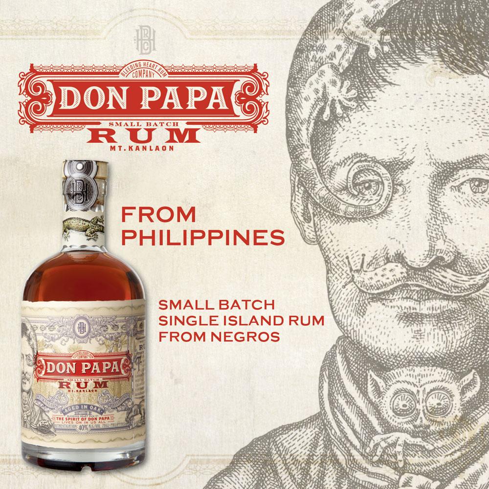 Don Papa, ron Premium envejecido de Filipinas