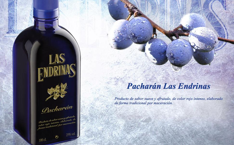 Pacharán Las Endrinas, dulce y aterciopelado