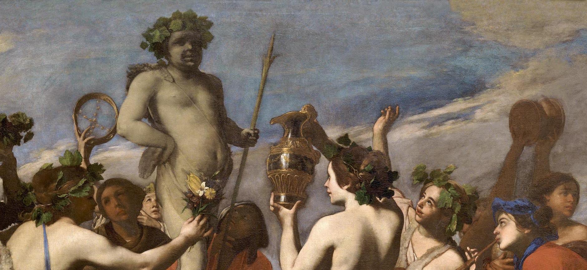 """""""Sacrificio a Baco"""" (1634), de Massimo Stanzione"""