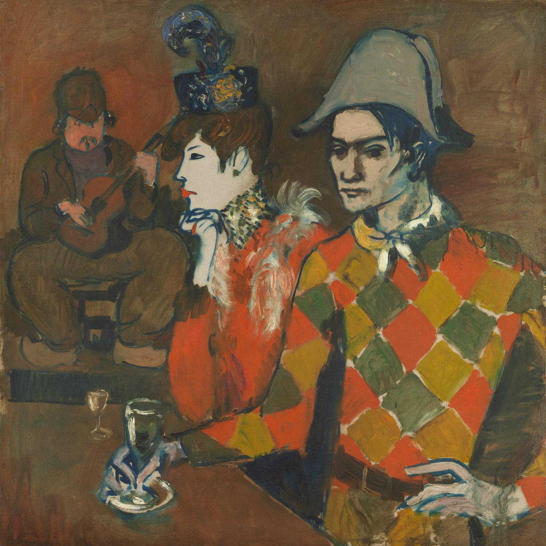 """""""Au lapin agile"""" (1905), de Pablo Picasso"""