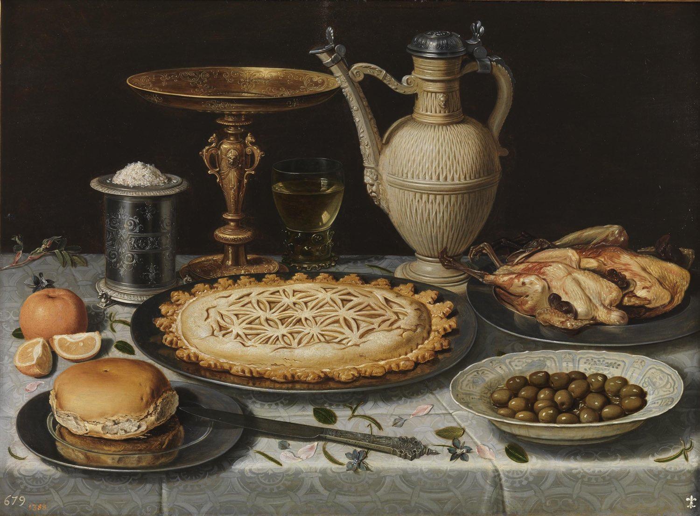 """""""Mesa"""" (1611), de Clara Peeters"""