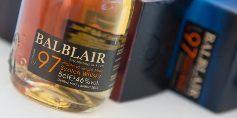 Balblair 1997, whisky de añada única y perfecta