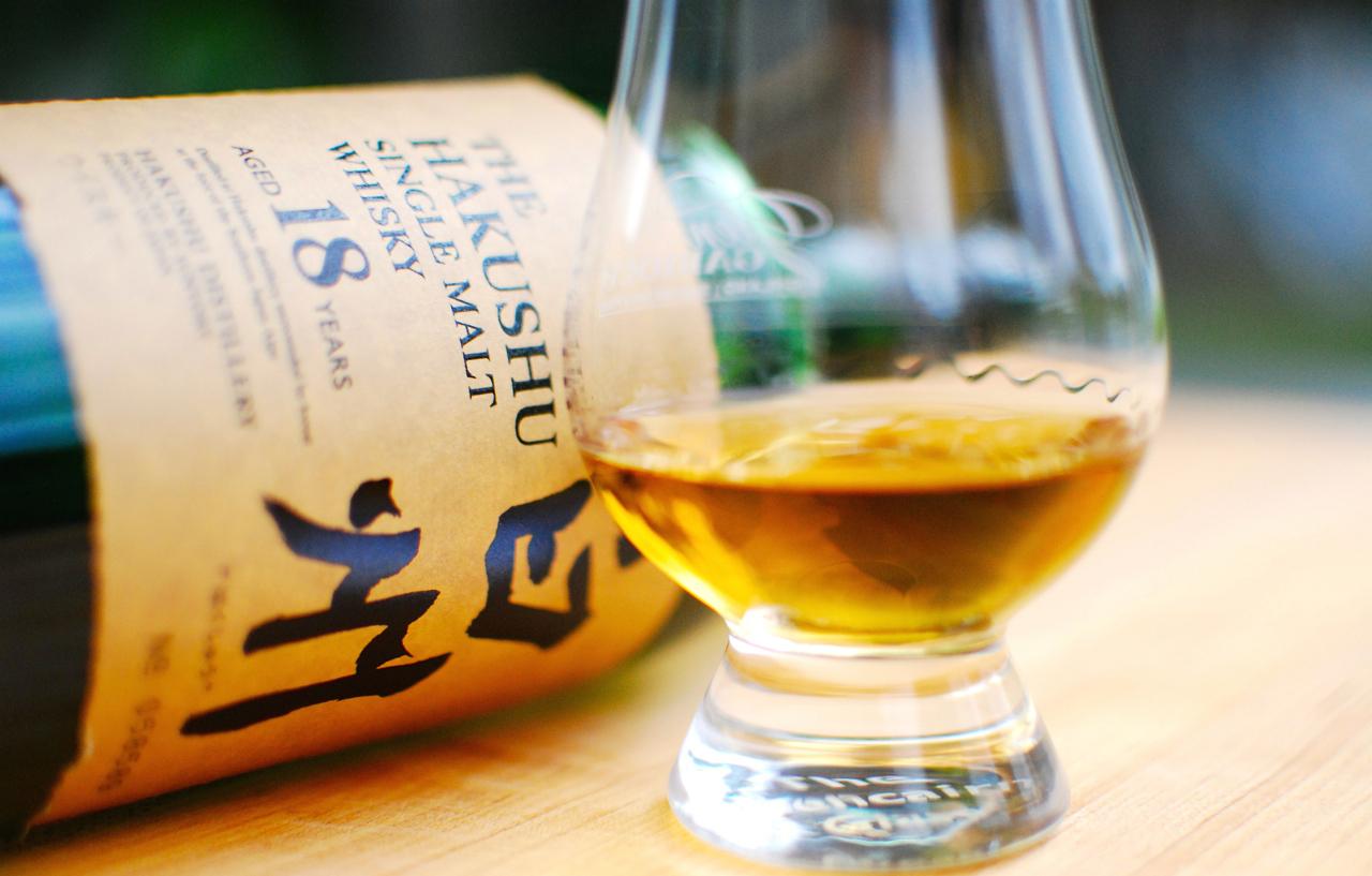 Hakushu 18, whisky de sabor largo y elegante