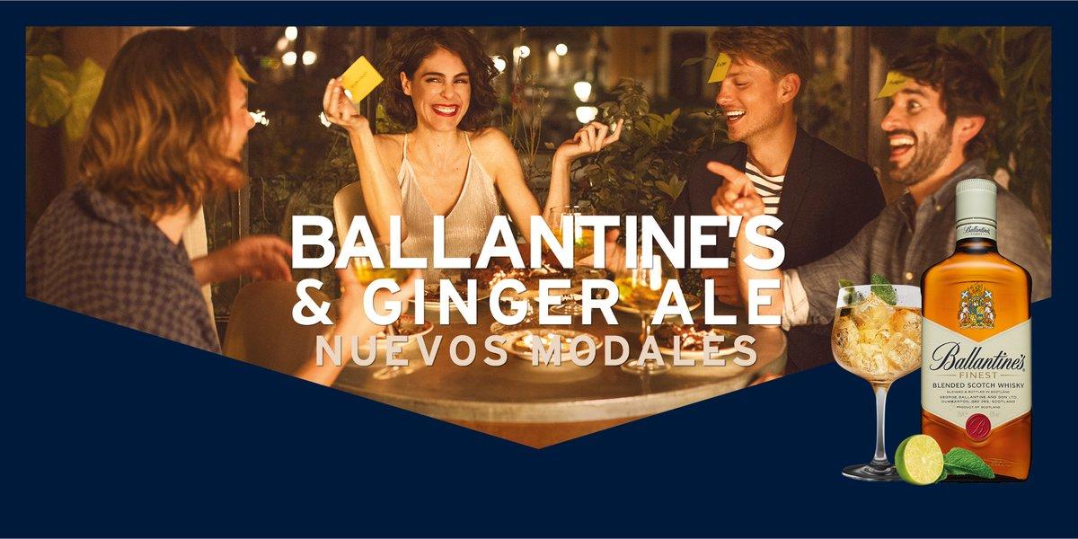 Ginger Ale & Ballantine's, combinado de moda para después del trabajo
