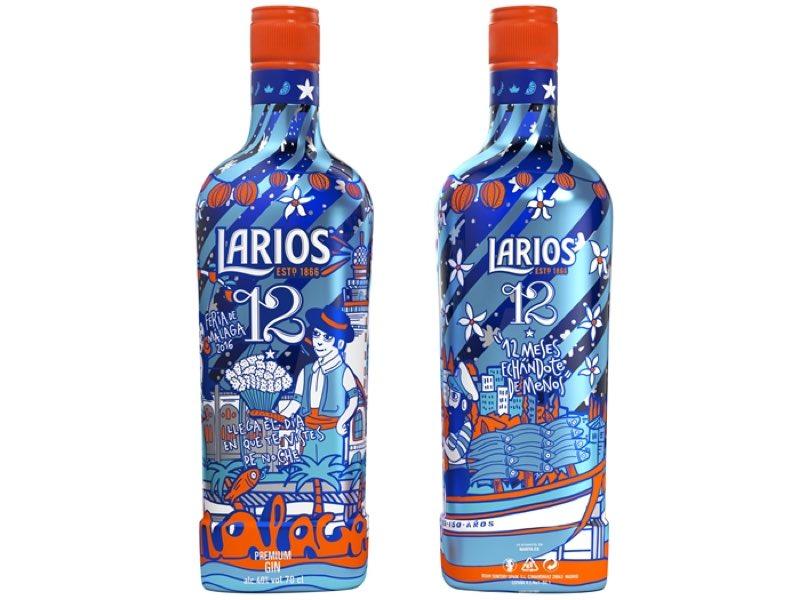 Larios 12 celebra la feria de Málaga 2016