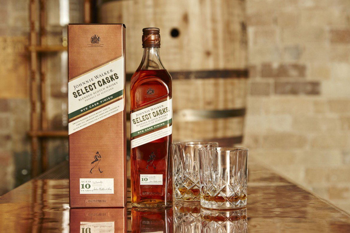 Rye Cask Finish, whisky de Johnnie Walker con acabado de barricas de centeno