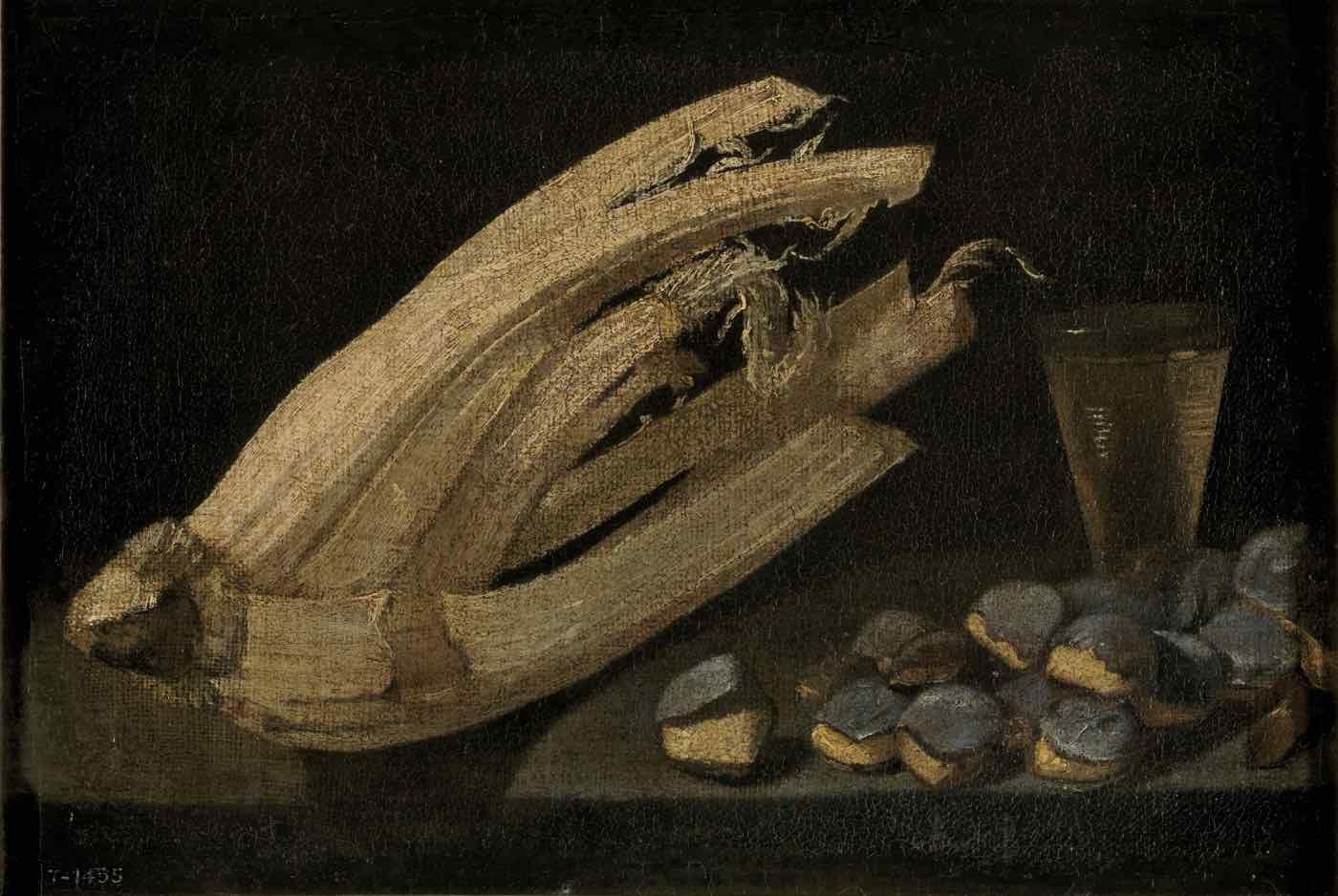"""""""Bodegón"""" (1631), de Francisco de Burgos Mantilla"""