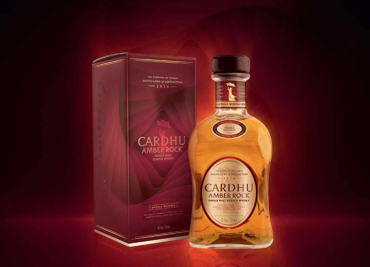 Cardhu Amber Rock, malta escocés de doble maduración