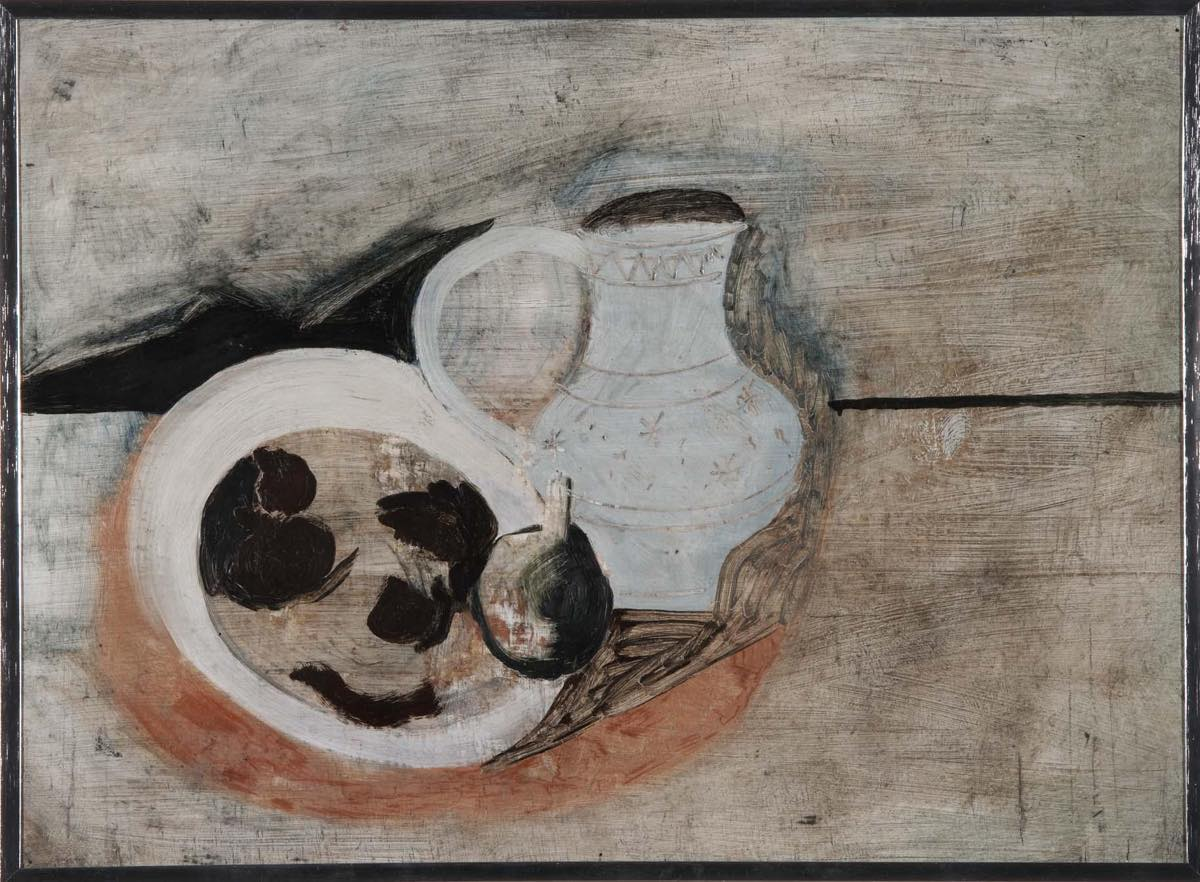 """Bodegón con jarra"" (1928), de Ben Nicholson"