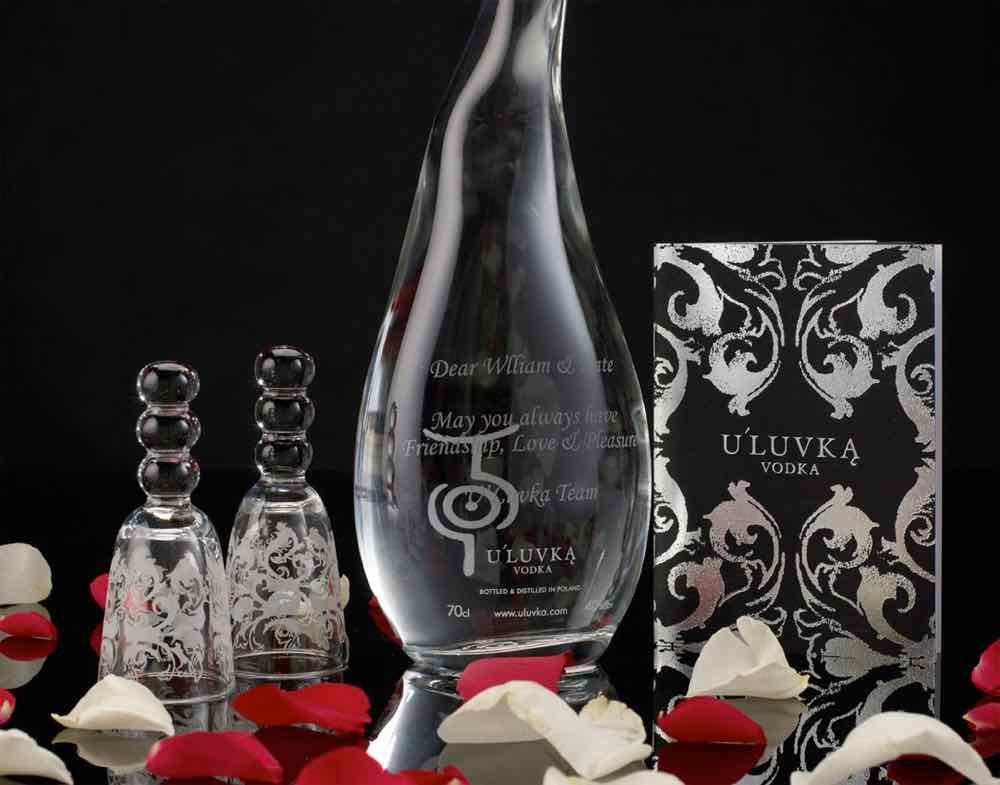 U'Luvka, vodka polaco de la casa real