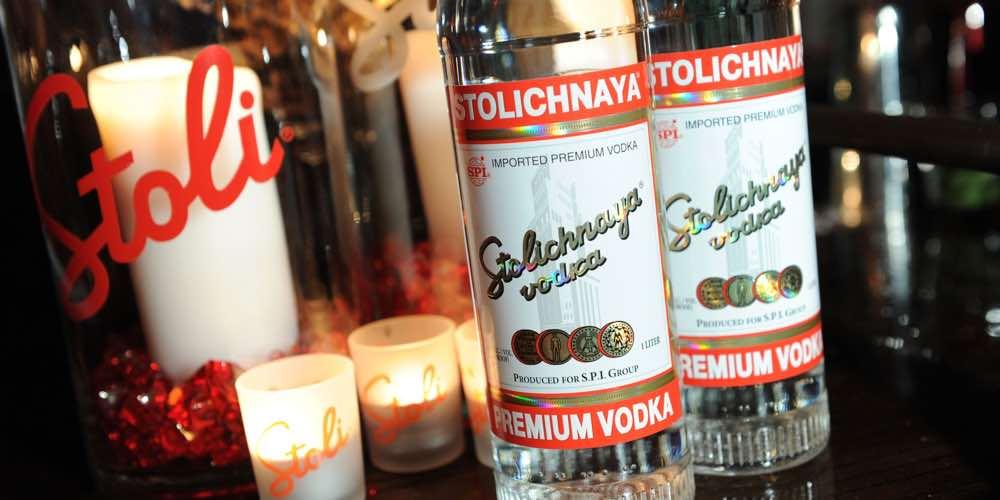 Stolichnaya Vodka, un clásico desde Rusia