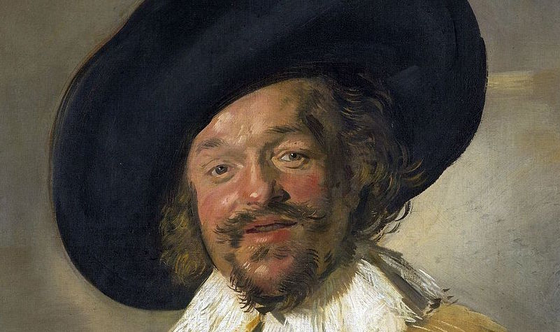 """""""El alegre bebedor"""" (1627-1628), de Frans Hals"""