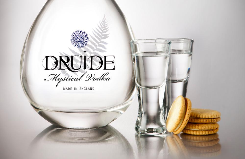 Druide, vodka de textura cálida y sedosa