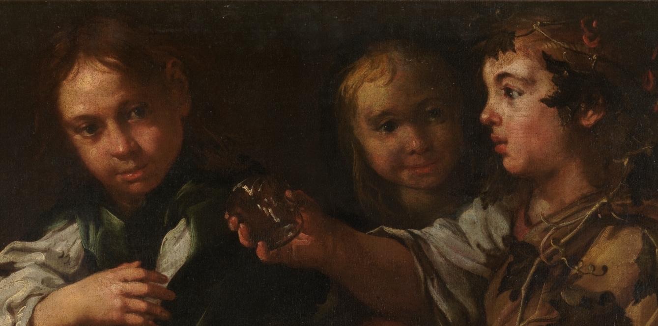 """Bacanal infantil"" (siglo XVII), de Eberhard Keil"