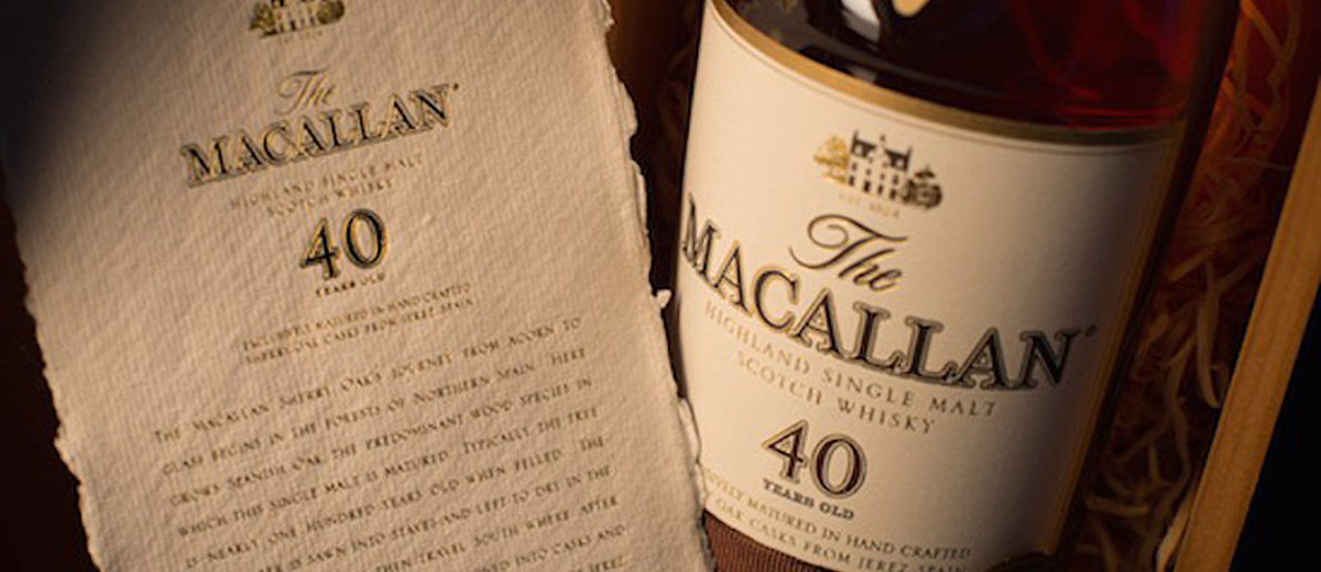 40 Years Old Sherry Oak Edition, edición limitada de The Macallan