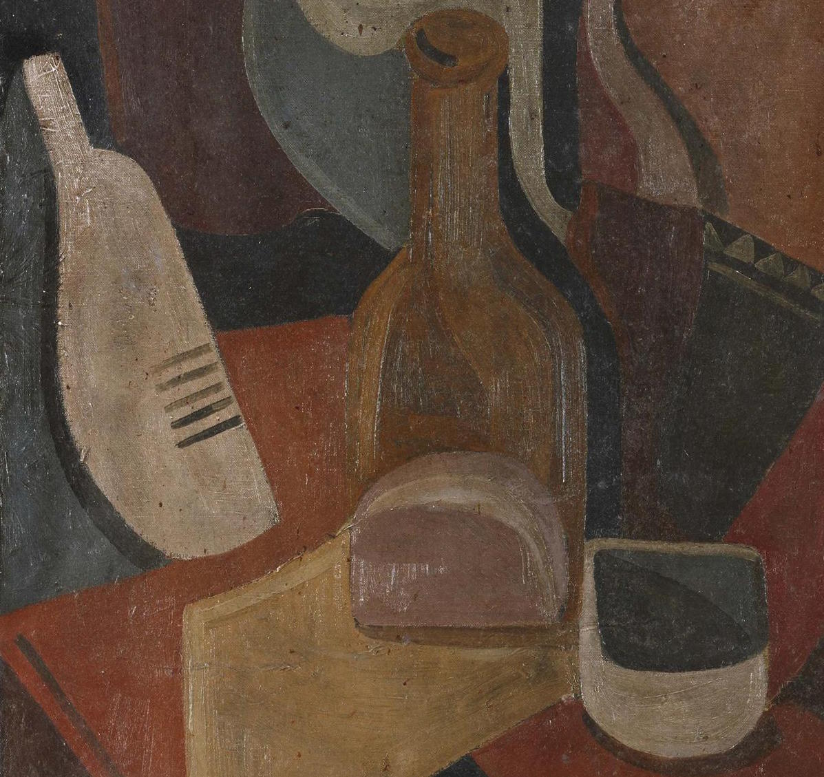 """Bodegón cubista"" (1927-1928), de Santiago Pelegrín Martínez"