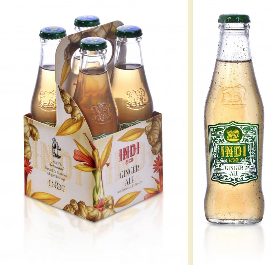 Ginger Ale, nuevo refresco premium de Indi