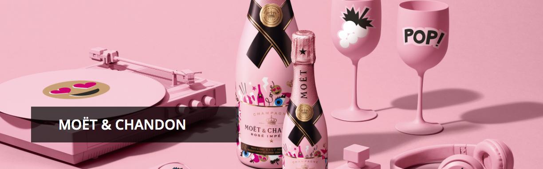 Moët Rosé Impérial Emoëticons, champagne con emoticonos para San Valentín