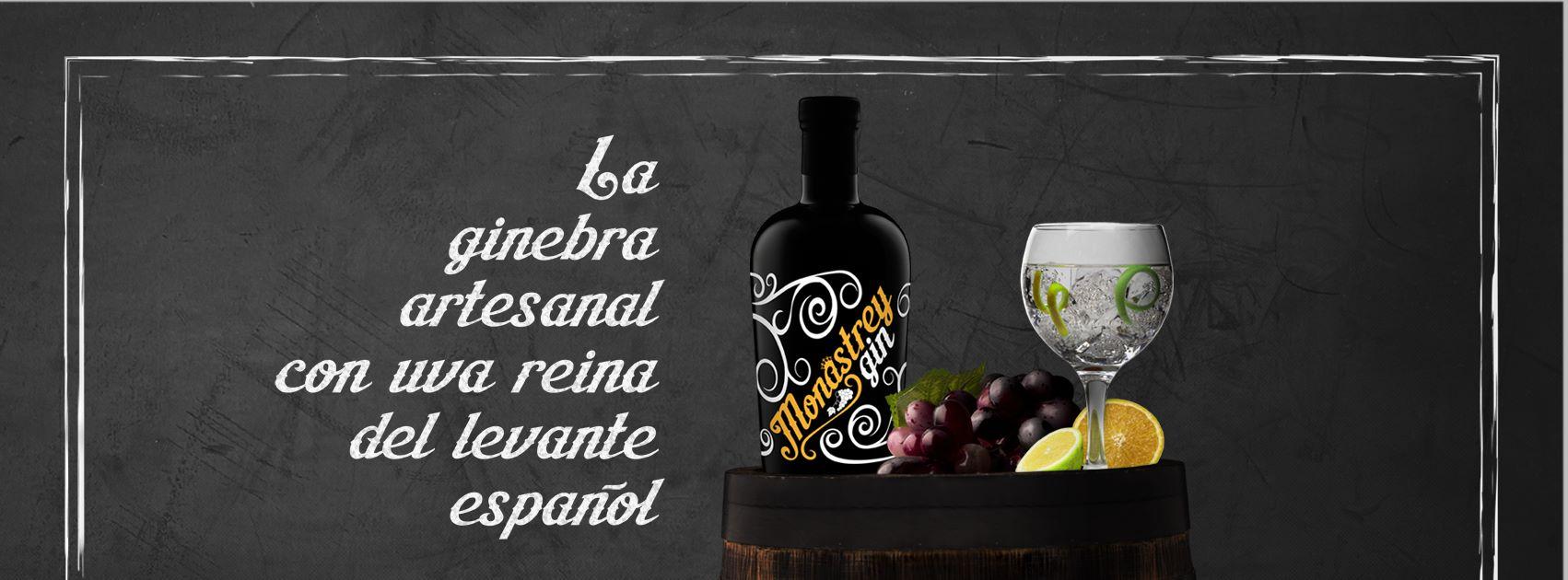 Monastrey, ginebra artesanal con la uva reina del levante español