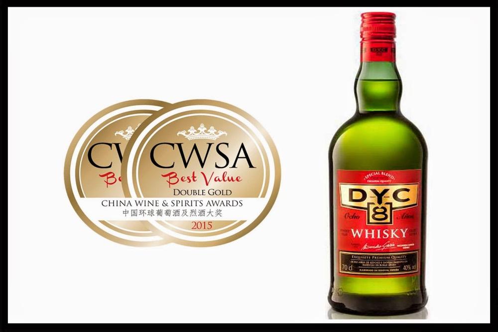 El blended whisky DYC 8, elegido 'Sabor del año 2017'