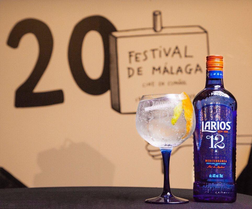 Larios acompaña al festival de Málaga de cine en español en su 20ª edición