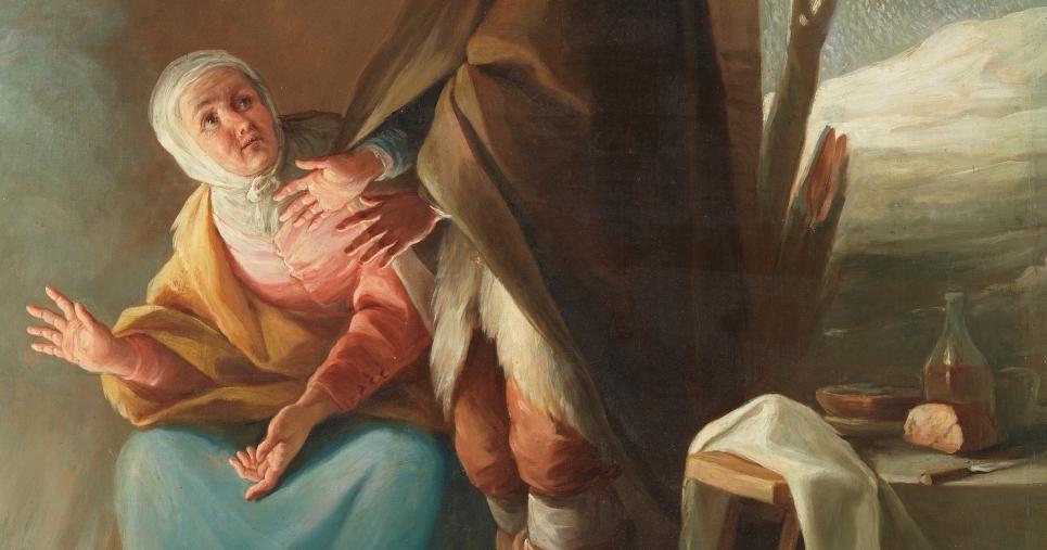 """""""El Invierno"""" (1805 – 1806), de Mariano Salvador Maella"""