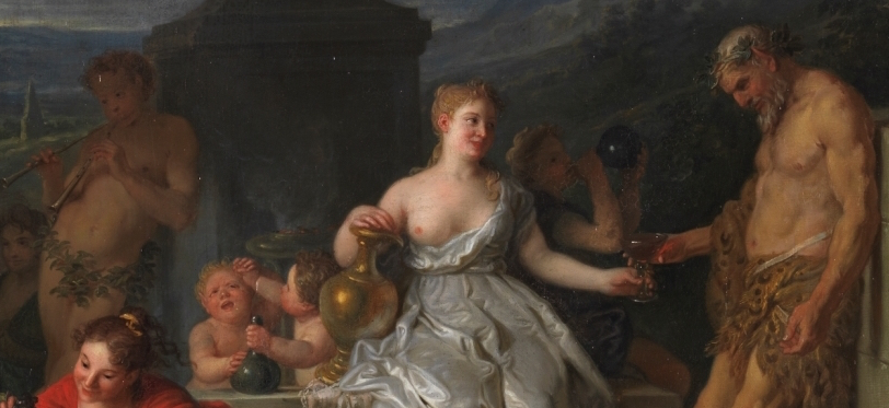 """Bacanal"" (1719), de Michel-Ange Houasse"
