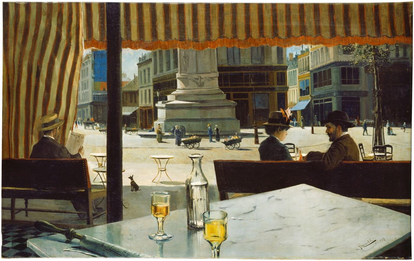 """Plaza de París"" (1887), de Eliseo Meifrén Roig"
