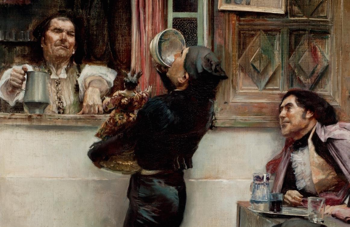 """""""¡¡Hasta verte, Cristo mío!!"""" (hacia 1895), de José García y Ramos"""