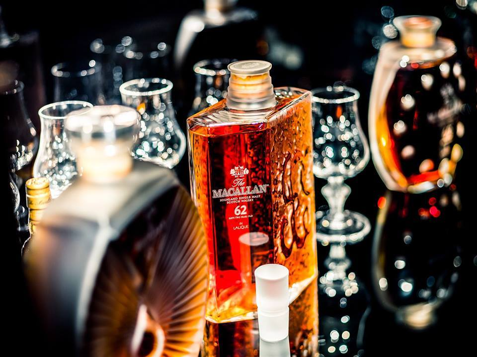 The Macallan in Lalique Legacy Collection, whisky de un millón de dólares
