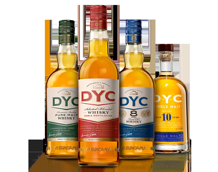 El whisky español DYC renueva y actualiza su imagen por primera vez en su historia